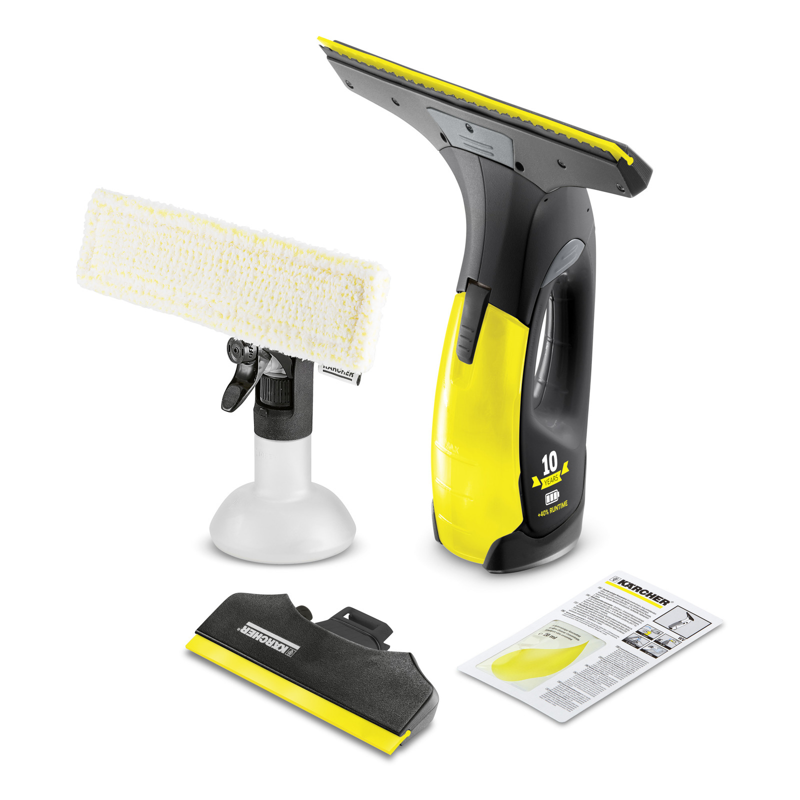 Glass Cleaner KARCHER WV2 PREMIUM (Anniversary Edition)