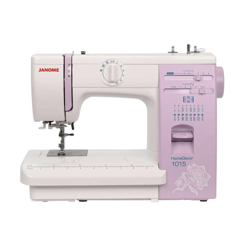 Sewing Machine JANOME HOMEDECOR 1015