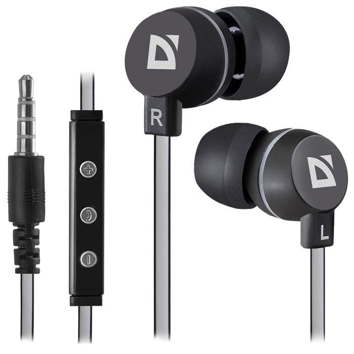 Headphones DEFENDER Pulse 453 Black