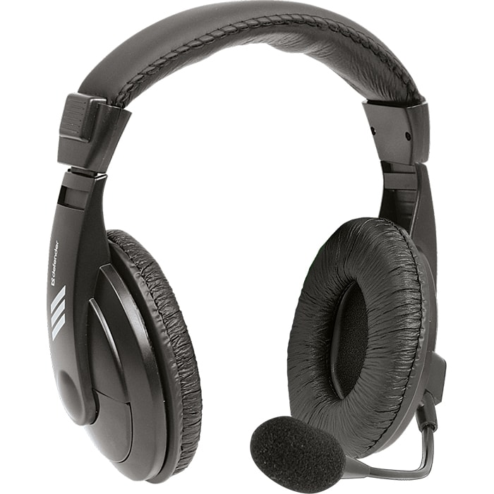 Headphones DEFENDER Gryphon 750 Black