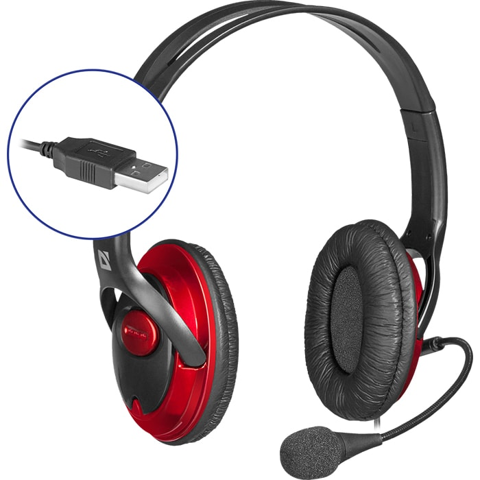 Headphones DEFENDER Phoenix 875U USB