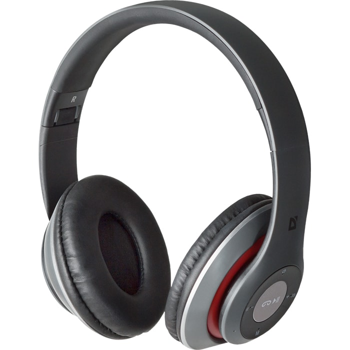 Headphones DEFENDER FreeMotion B570 Red+Grey