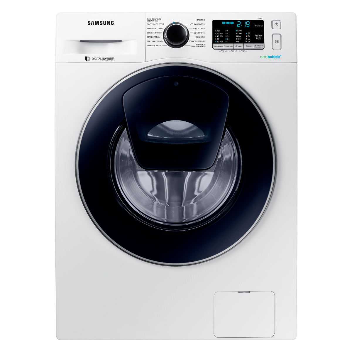 Washing Machine SAMSUNG WW90K54H0UW/LP