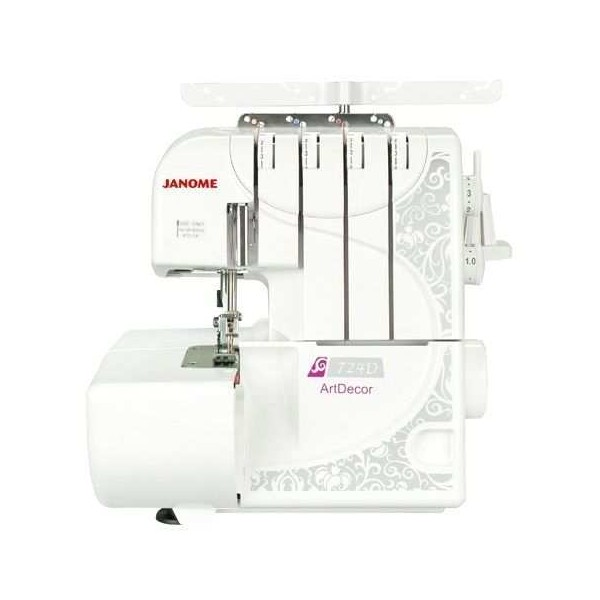 Overlocker Machine JANOME ARTDECOR 724D