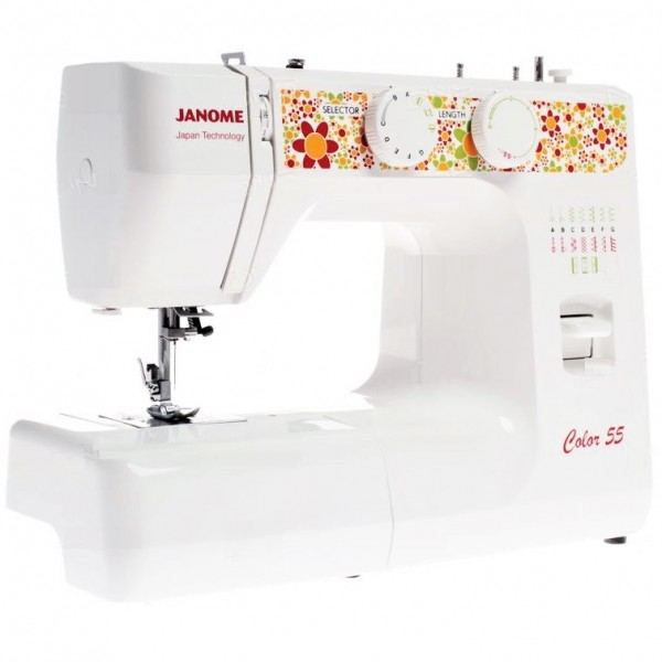 Sewing Machine JANOME COLOR 55