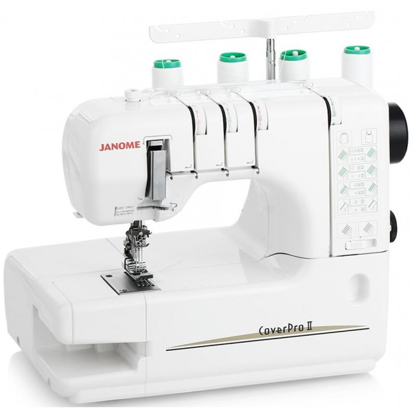 Overlocker Machine JANOME COVER PRO II