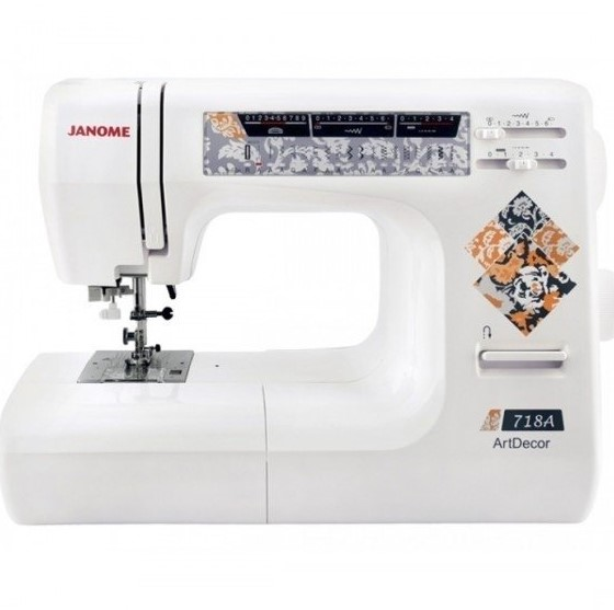 Sewing Machine JANOME ARTDECOR 718A