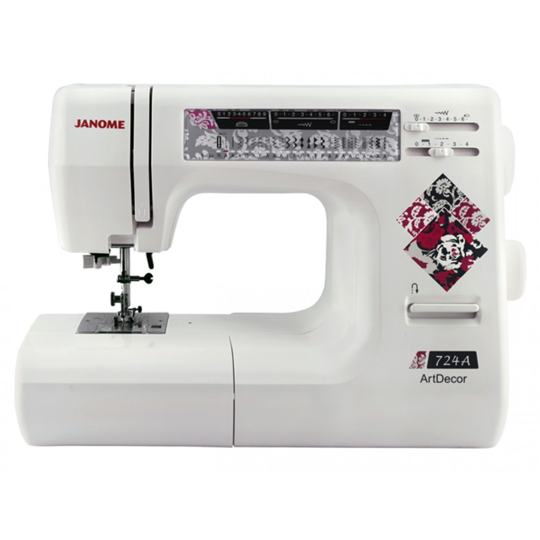 Sewing Machine JANOME ARTDECOR 724A