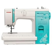 Sewing Machine JANOME HOMEDECOR 1019