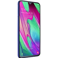 Телефон Samsung Galaxy A40 4/64GB BLUE